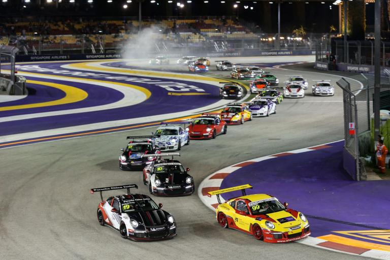 High-pressure fights under the lights during festive Round 9 night race in Singapore
