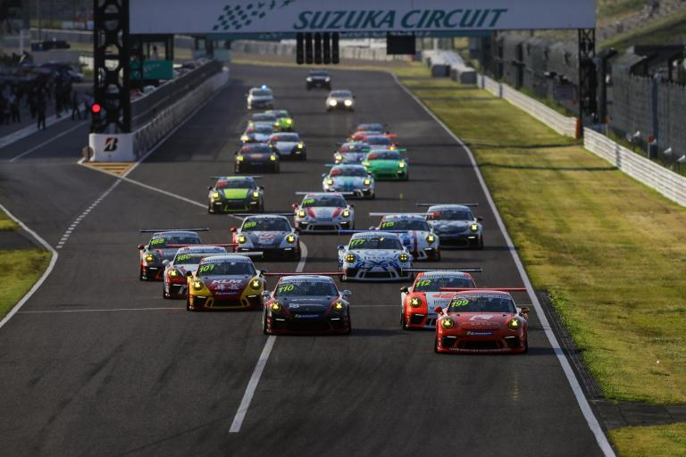 A scorcher in Suzuka as the Porsche Carrera Cup Asia brings the heat in Rounds 2 and 3