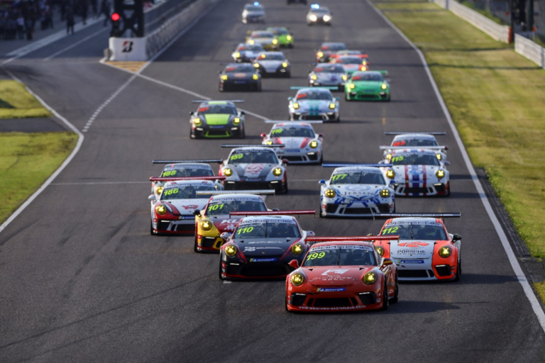 Full throttle in Fuji as the Porsche Carrera Cup Asia returns to Japan for a three race weekend